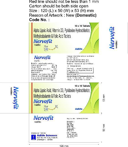 Nervofit Tablets