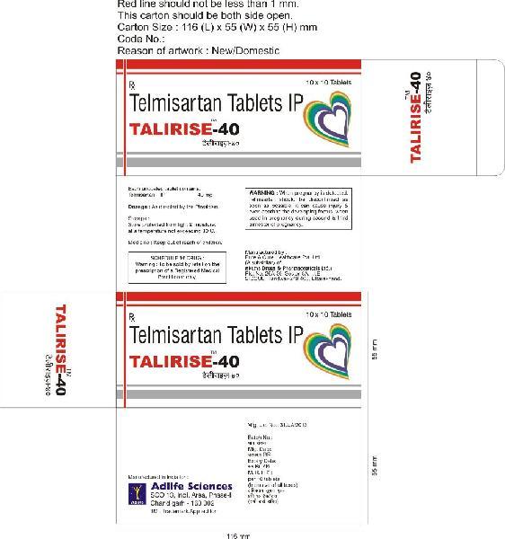 Talirise-40 Tablets