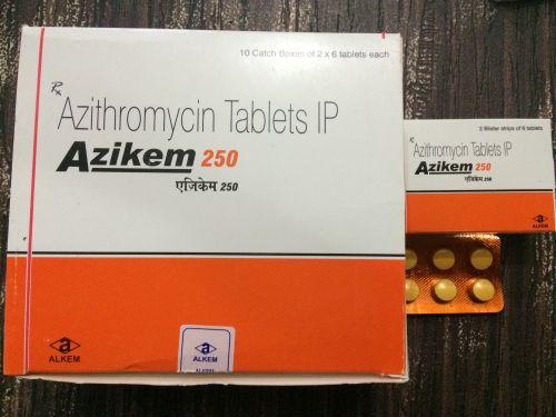 Azikem 250 Tablets