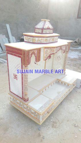 Marble Painting Temple 02