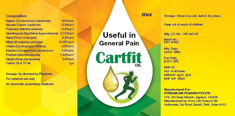 Cartfit Oil 01