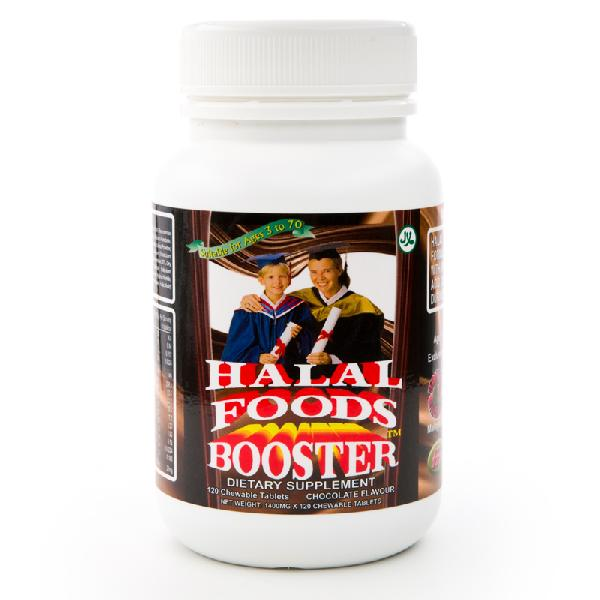 Halal Foods Booster Chocolate (Chewable Tablets) 01