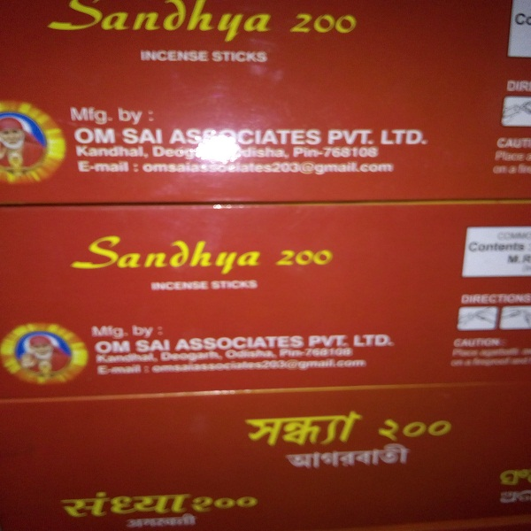 Sandhya 200 Incense Sticks