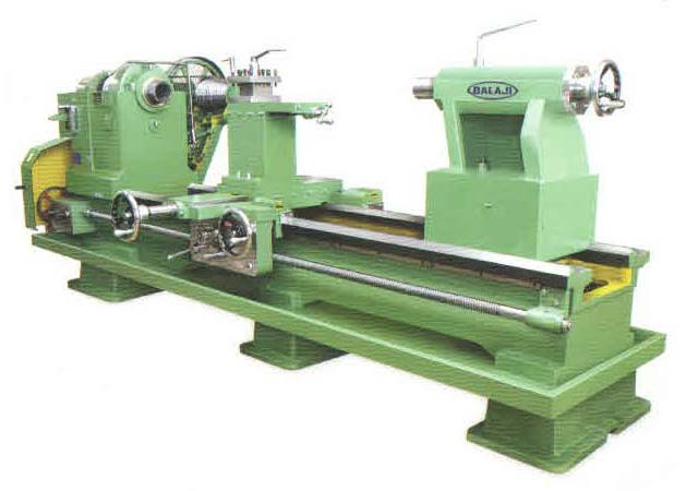 Pulley Driven Lathe Machine (VH 406-508-558-660-760)