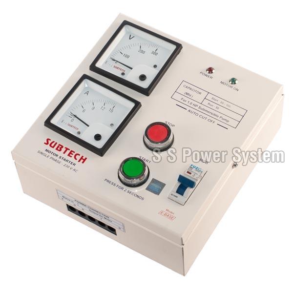 Automatic motor starter single phase motor starter for 1 phase motor starter