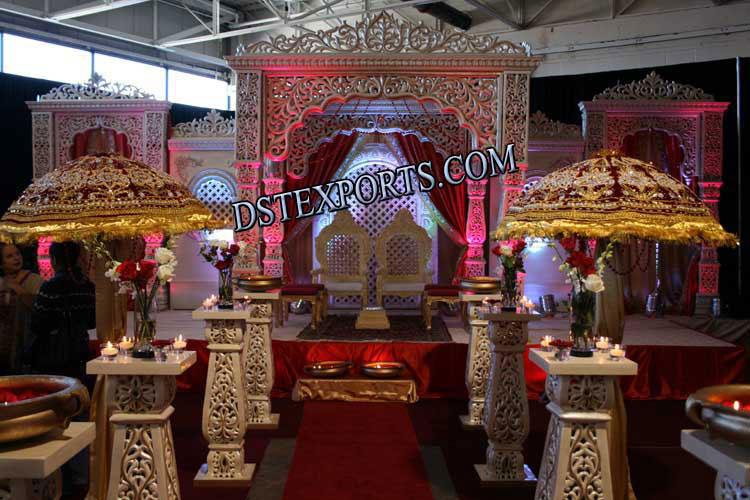 Indian Wedding Fiber Mandaps