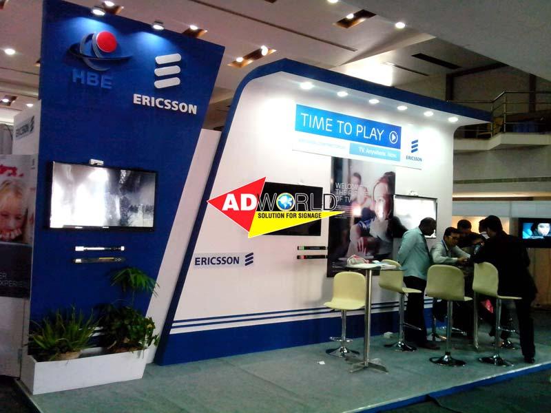 Exhibition Stall Manufacturer : Fabricated exhibition stalls modular