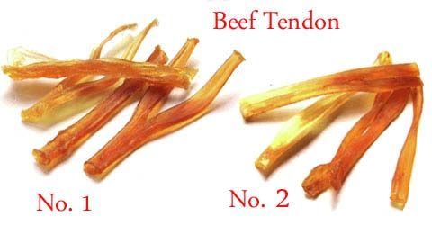 Dried Beef Tendon & Trachea