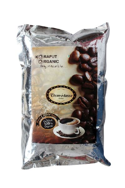 Certified Organic Roasted Coffee Beans 01