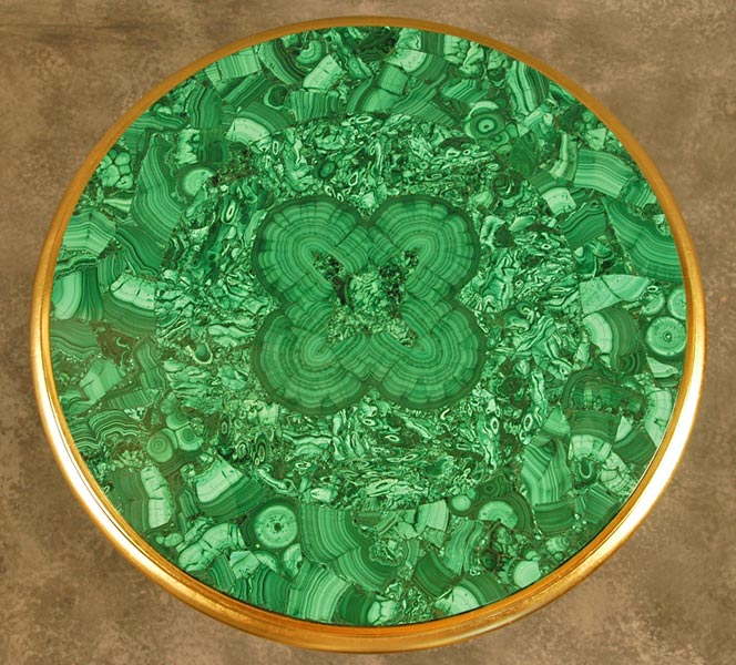 Malachite Stone Table Top