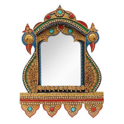 Wooden Decorative Mirror 01