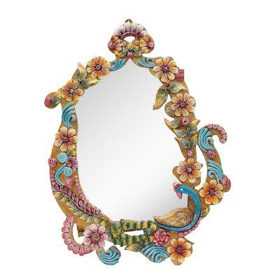 Wooden Decorative Mirror 02