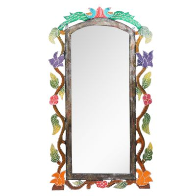 Wooden Decorative Mirror 04