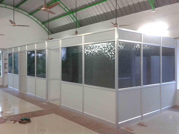 Aluminium Partitions Product : Aluminium section partition images glass
