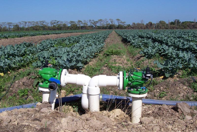 Water Control System For Agriculture