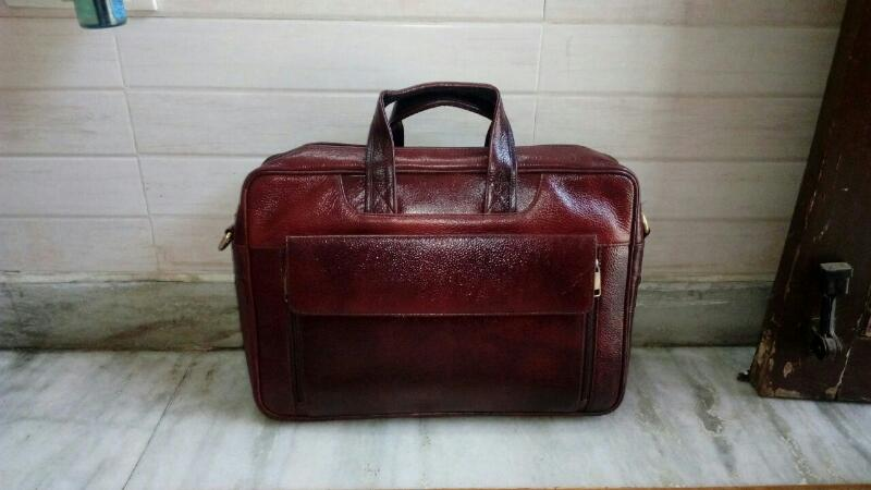 Leather Laptop Bag 01