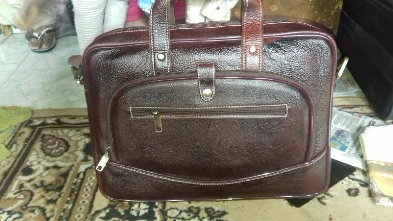 Leather Laptop Bag 03
