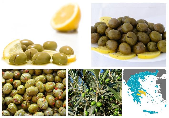 Greek Cracked Olives