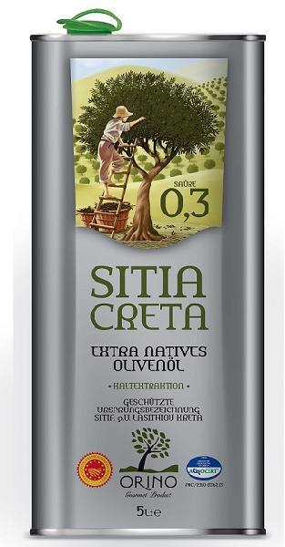 Greek Orino Extra Virgin Olive Oil