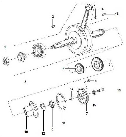Cylinder And Piston Assembly