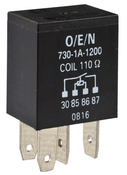 Automotive Micro Power Relay (Series 73)