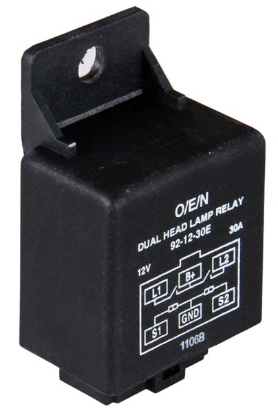 Dual Headlamp Relay (Series 92)