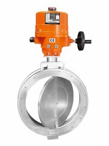 Motorised butterfly valve motor operate butterfly valve for Motor operated butterfly valve