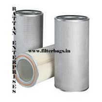 Gas Turbine Air Intake Filter Cartridge