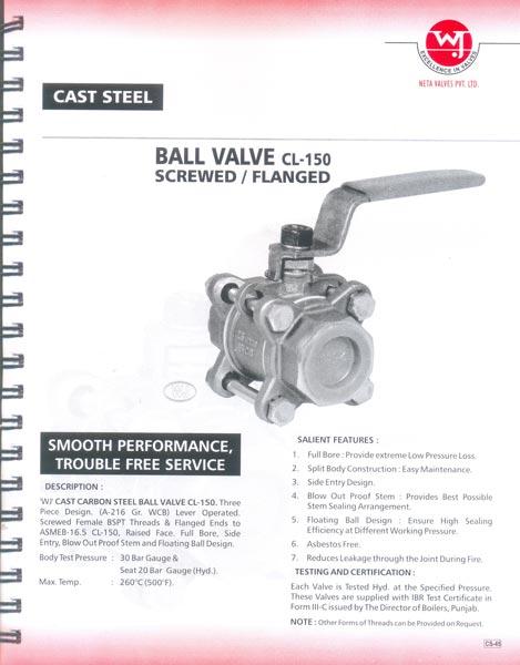 Cast Steel Ball Valves