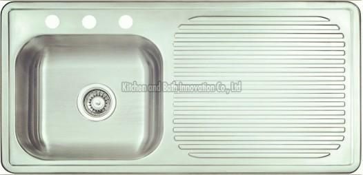 KBEB10050 Stainless Steel One Bowl One Drain Sink