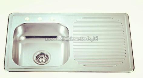 KBEB8050 Stainless Steel One Bowl One Drain Sink