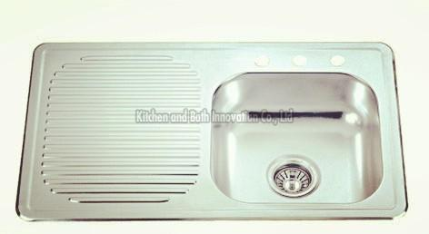 KBEB8050R Stainless Steel One Bowl One Drain Sink