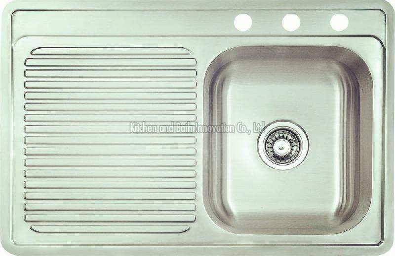 KBEB8456R Stainless Steel One Bowl One Drain Sink