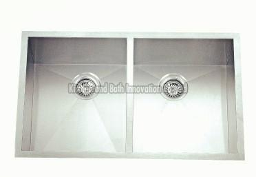 KBHD3320B Stainless Steel Double Bowl Sink
