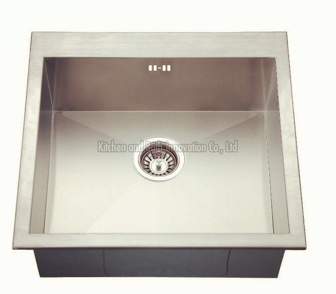 KBHS5650 Stainless Steel Topmount Single Bowl Sink