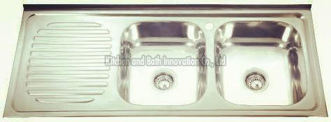 KBLD12050R Stainless Steel Lay on Sink
