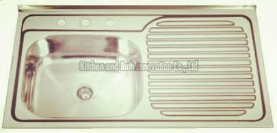 KBLS10050 Stainless Steel Lay on Sink