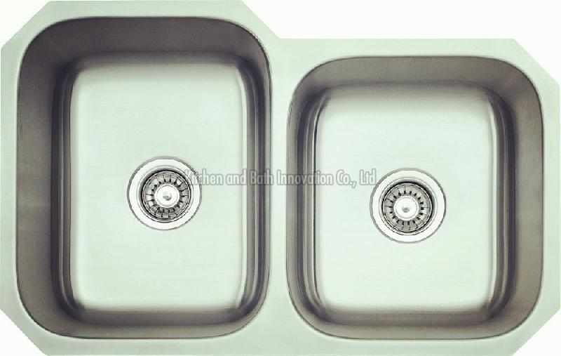 KBUD3220 Stainless Steel Undermount Double Bowl Sink