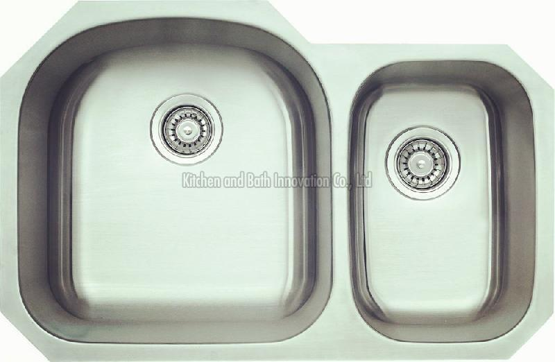 KBUD3221B Stainless Steel Undermount Double Bowl Sik