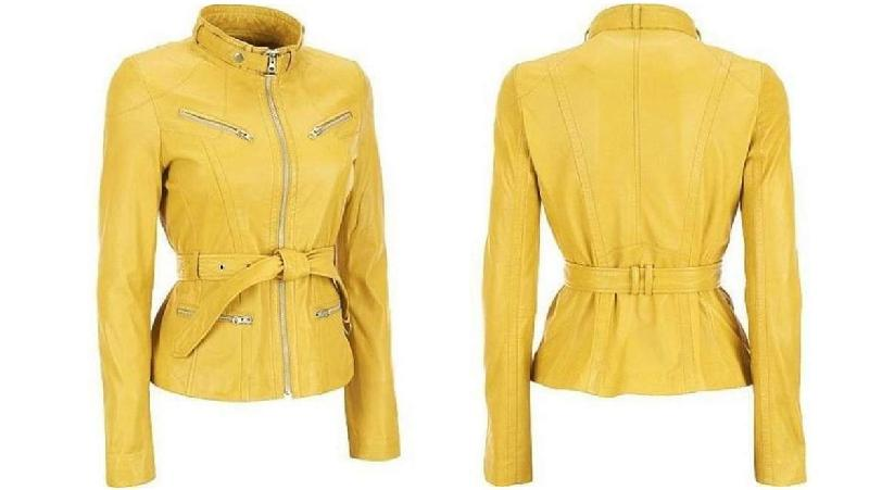 Ladies Sheep Leather Jackets