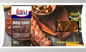 900g Pre-Cooked BBQ-Chilly Marinade Spare Ribs 01