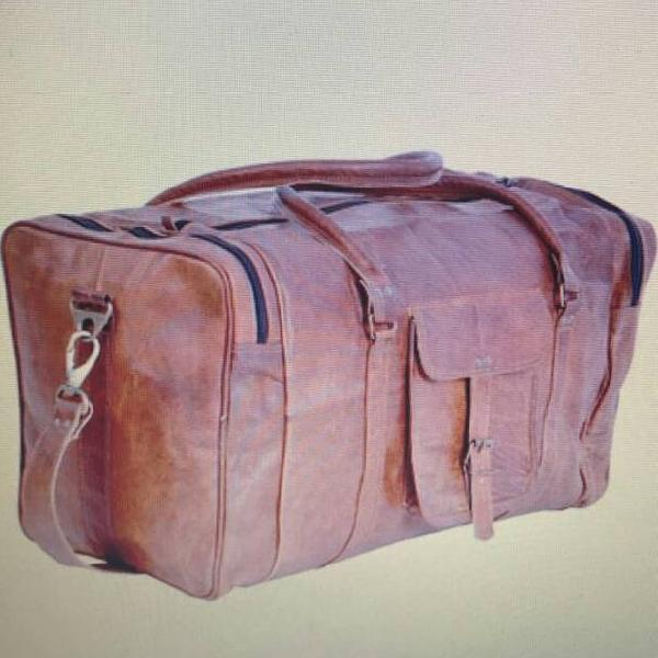 Leather Duffle Bag 01