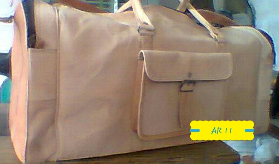Leather Duffle Bag 04