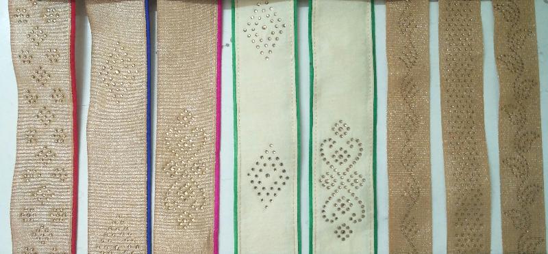 Hot Fix Diamond lace