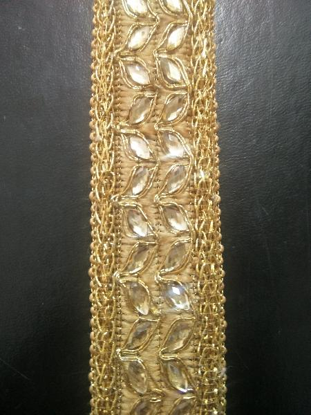 Diamond Work Jalar Laces