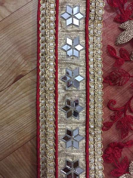 Stitch Piping Jalar Mirror Lace