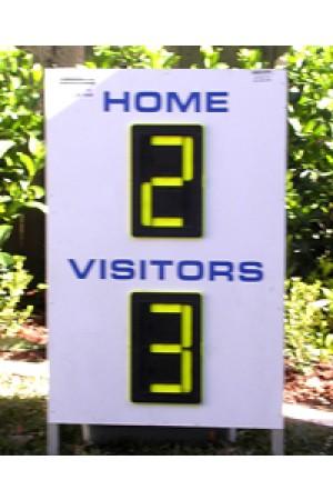 2 Digit Soccer A Frame Scoreboard