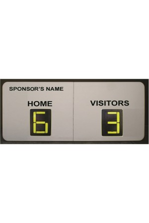 2 Digit Soccer Self Supporting Scoreboard