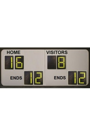 8 Digit Bowl Self Supporting Scoreboard