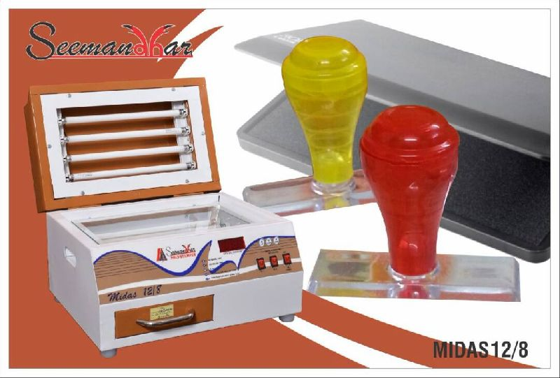 Midas 12/8 Polymer Stamp Making Machine 02